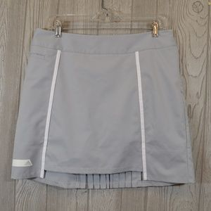 Adidas Golf Tennis Skirt Skort Sport Grey 10